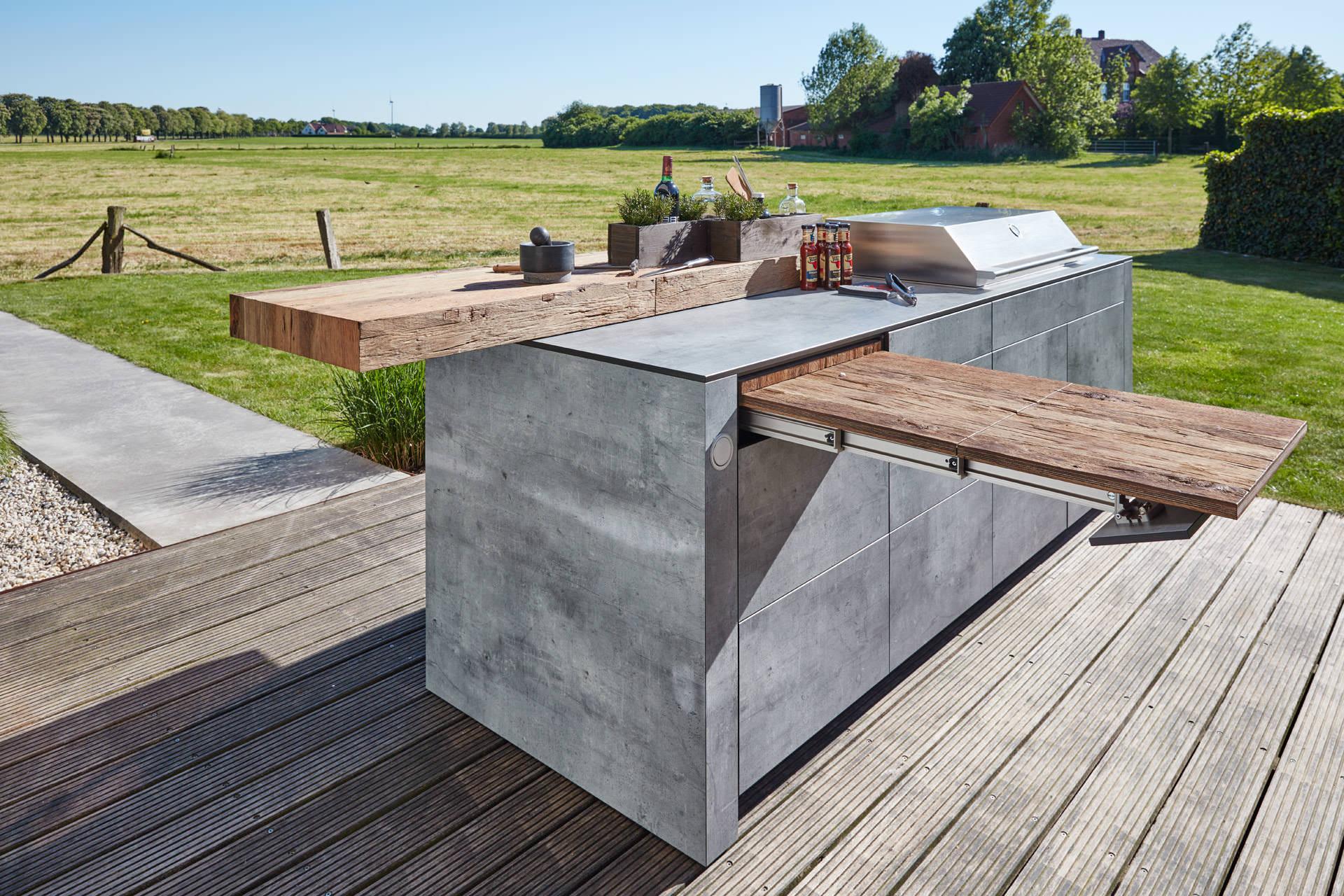Outdoorküche Garten Jobs : Gartenküche und küchengarten u a gärten von eckhardt gmbh co kg
