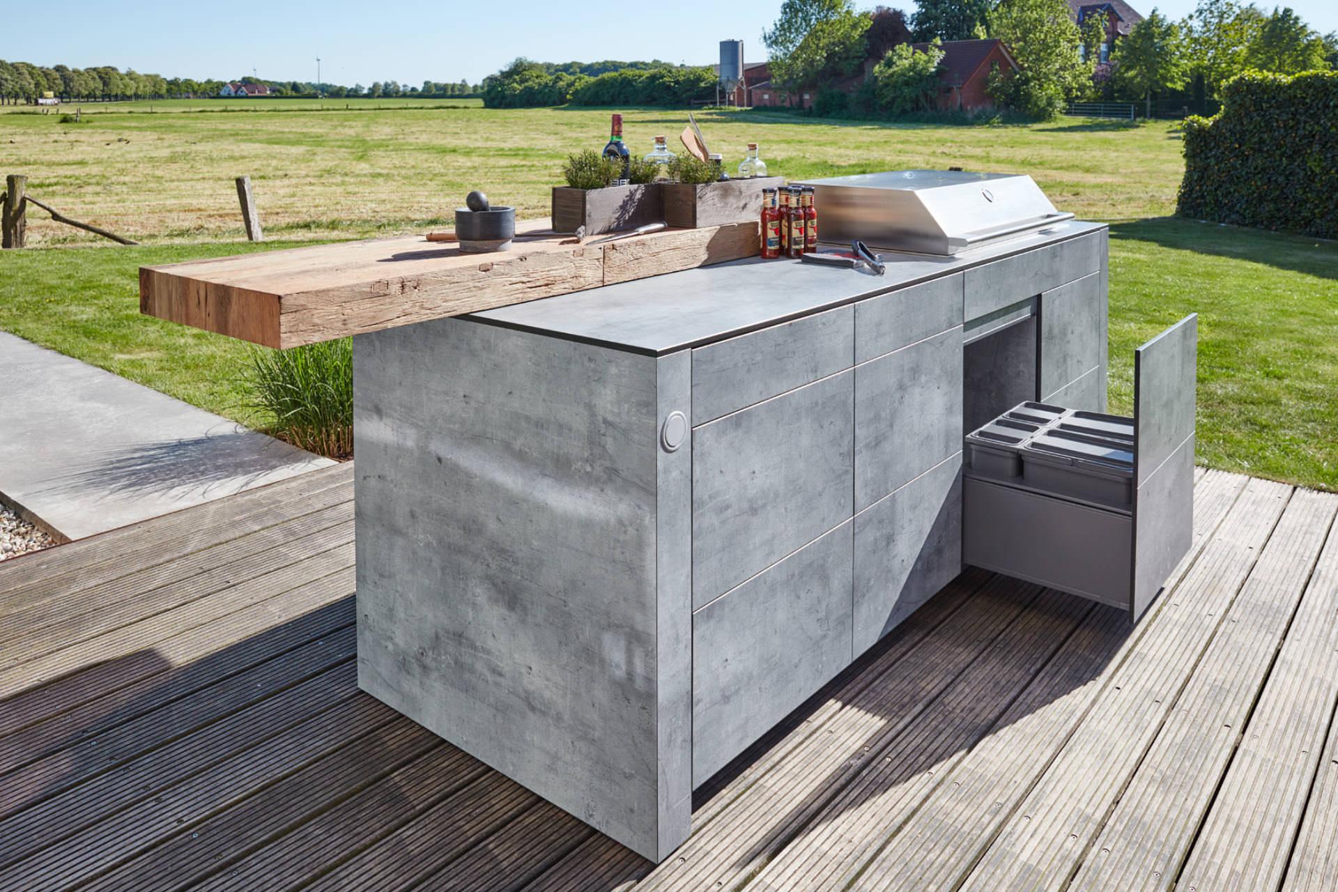 Outdoorküche Mit Kühlschrank Preis : Ronda spa outdoor küche stauraum kühlschrank offen youtube