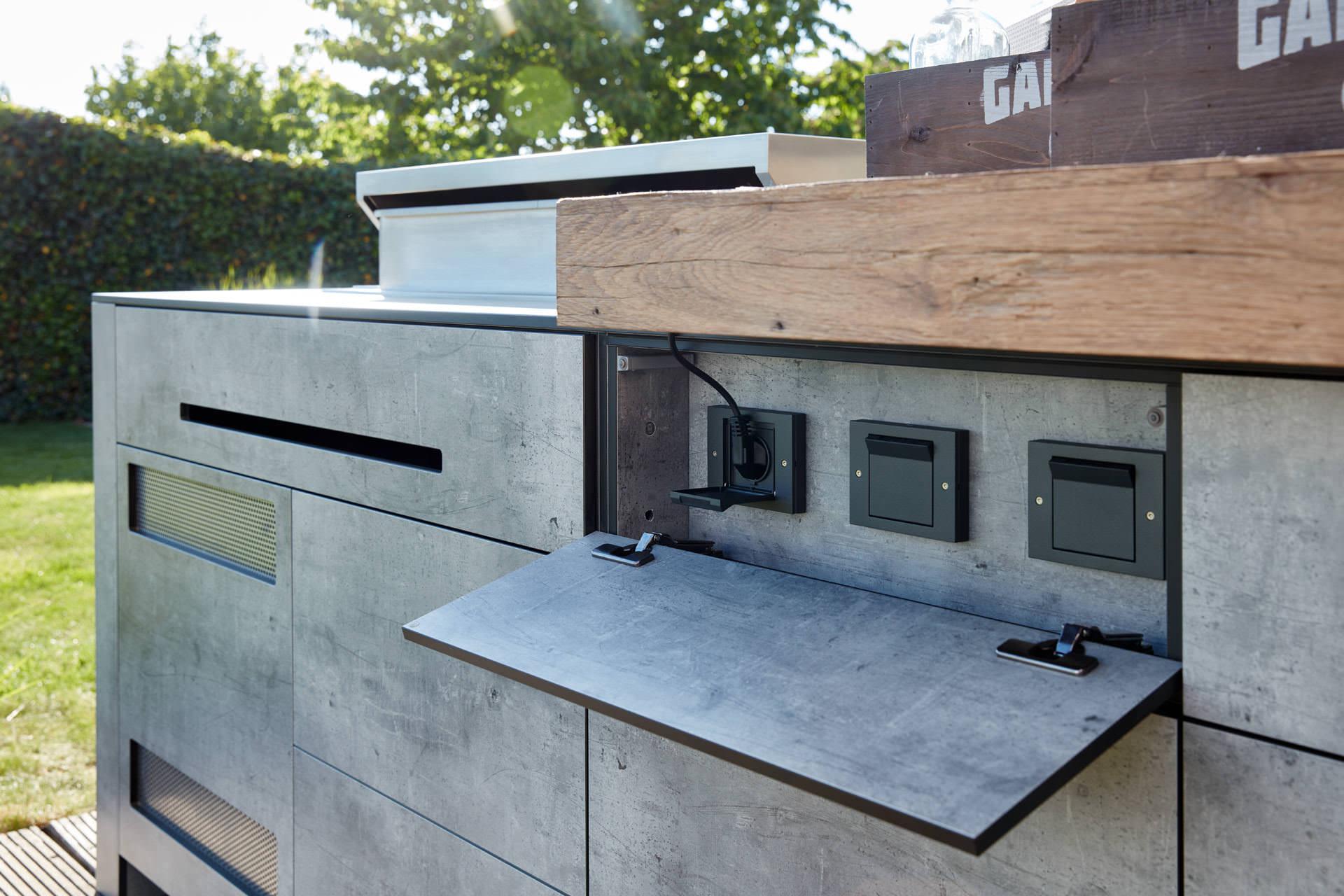 Outdoor Küche Module : Luxus outdoorküche made in germany. handwerk aus leidenschaft