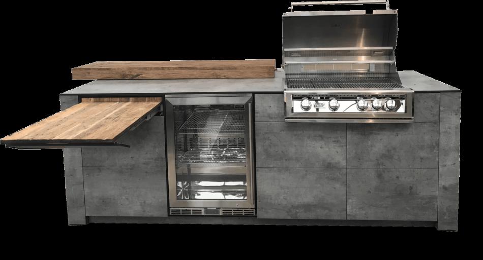 Outdoorküche Mit Kühlschrank Preis : Luxus outdoorküche made in germany handwerk aus leidenschaft